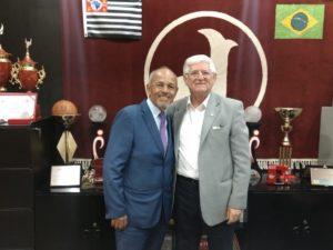 Presidente Domingos Sanches e Norival Barbosa - Divulgação