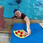 Dia das Crianças foi comemorado na piscina térmica