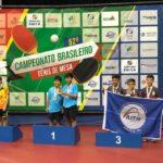 Atletas juventinos se destacam no Brasileiro de Tênis de Mesa