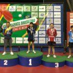 Atletas juventinos conquistam medalhas no Brasileiro de Tênis de Mesa