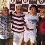 Departamento de Tênis encerra 2018 com festa de confraternização