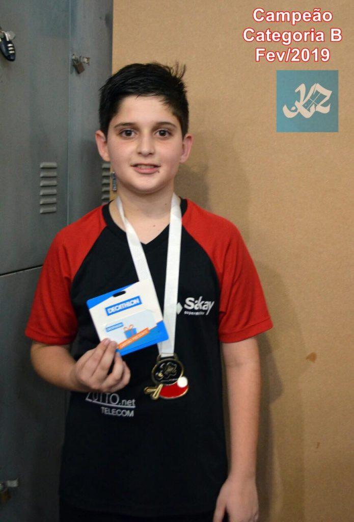 Torneio de Níveis de Tênis de Mesa 2