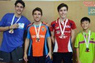 Torneio de Níveis de Tênis de Mesa 3