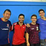 Torneio de Níveis de Tênis de Mesa 5