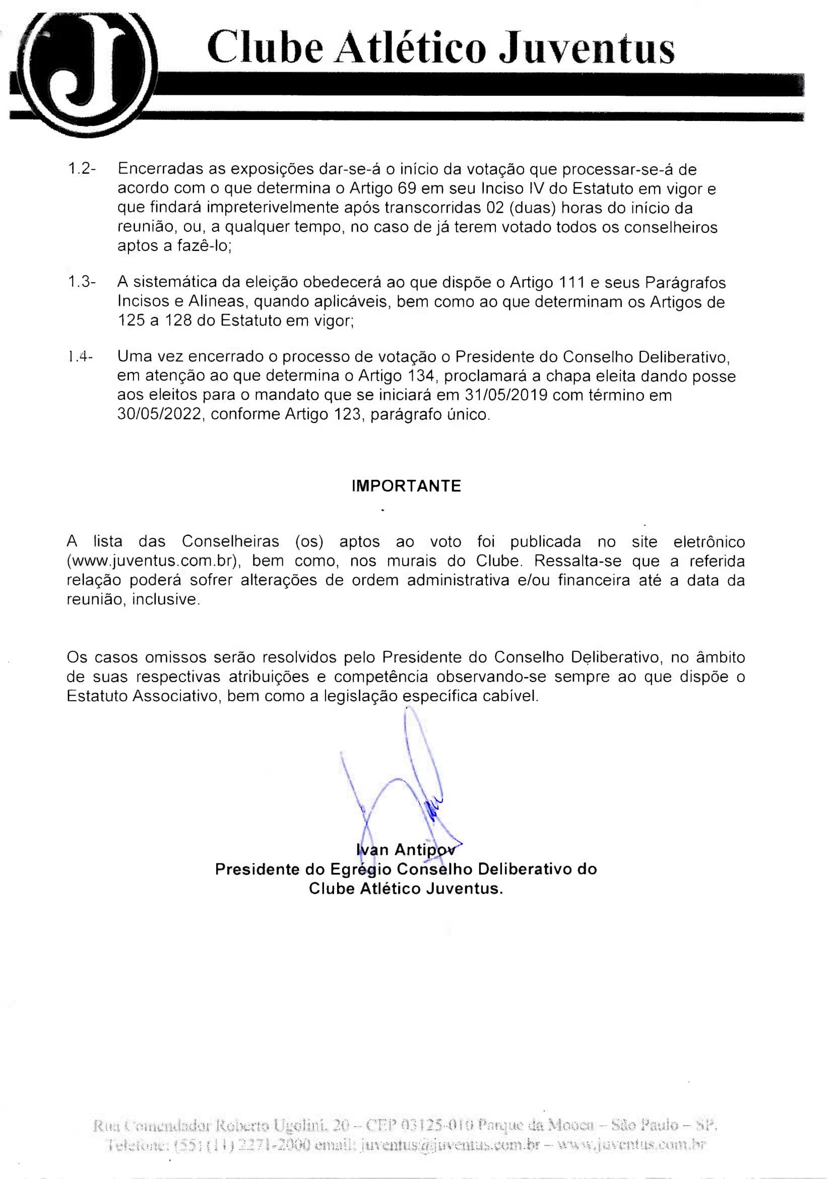 EDITAL DE CONVOCAÇÃO - REUNIÃO ORDINÁRIA 13-05-19084-2