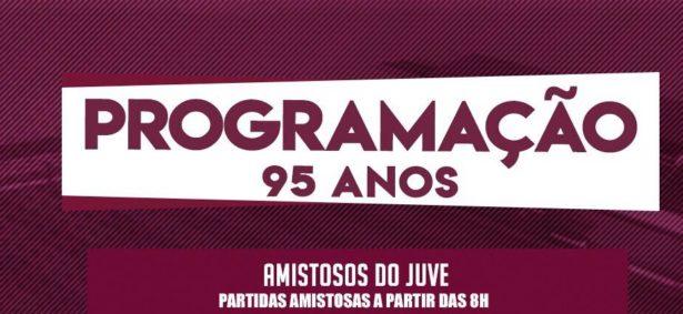 Programação 95 anos Juventus