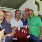 Presidente da FPF, Reinaldo Carneiro Bastos e Presidente do Juventus, Domingos Sanches. Foto: Marcelo Germano/ C A Juventus