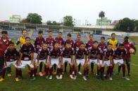 Equipe Sub-15. Foto: Divulgação