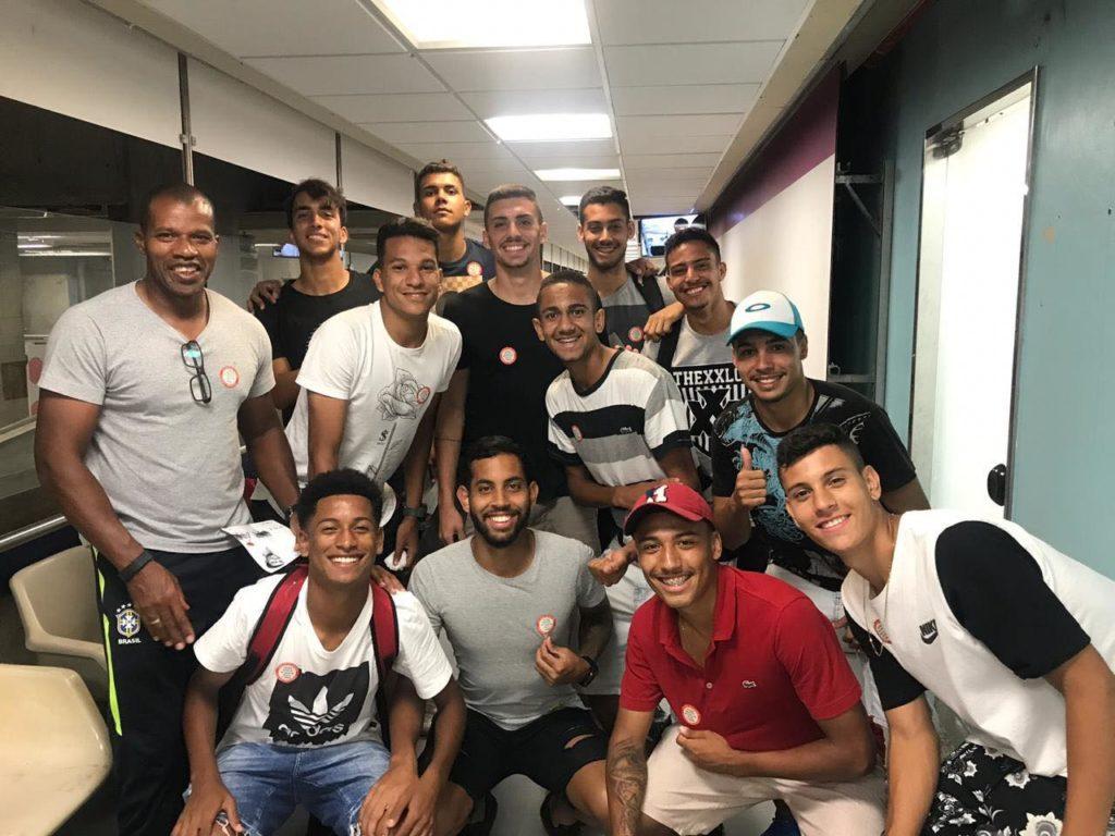 Atletas da equipe Sub-20