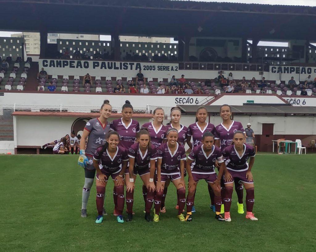 equipe feminina - 2019