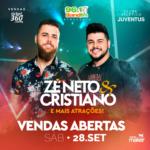 ZÉ NETO & CRISTIANO – Este evento não é organizado pelo Clube Atlético Juventus