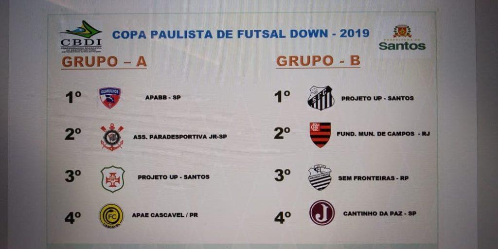 copa paulista futsal down
