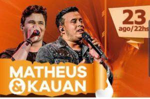 Matheus & Kauan - Este evento não é organizado pelo Clube Atlético Juventus @ Salão Nobre