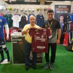 Antonio Ruiz visita Brasil Futebol Expo 2019