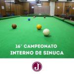 Vem aí o 16º Campeonato Interno de Sinuca
