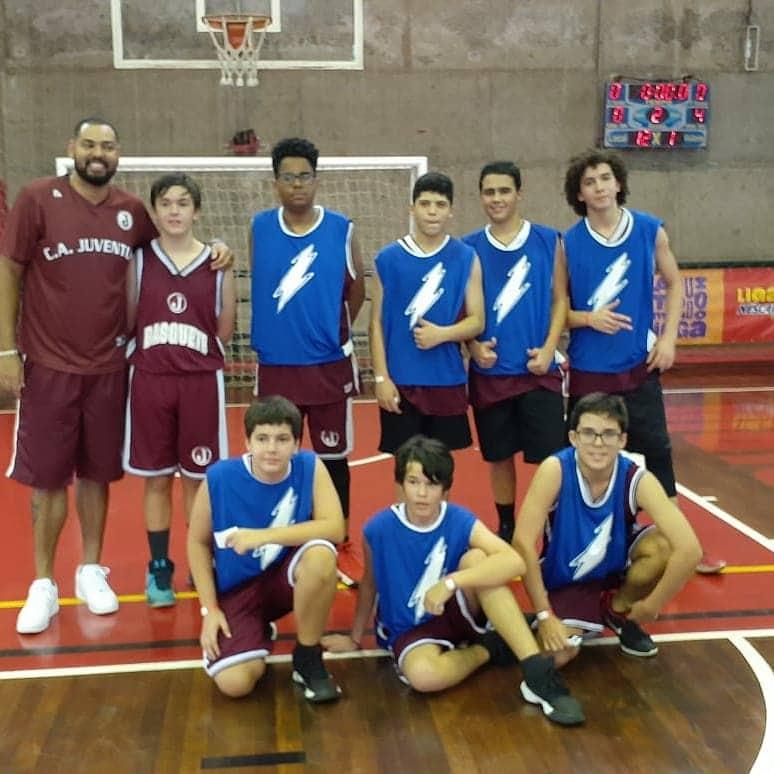 sub 14 equipe basquete