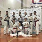 Equipe de Taekwondo participa da cerimônia de troca de faixa do Colégio Agostiniano