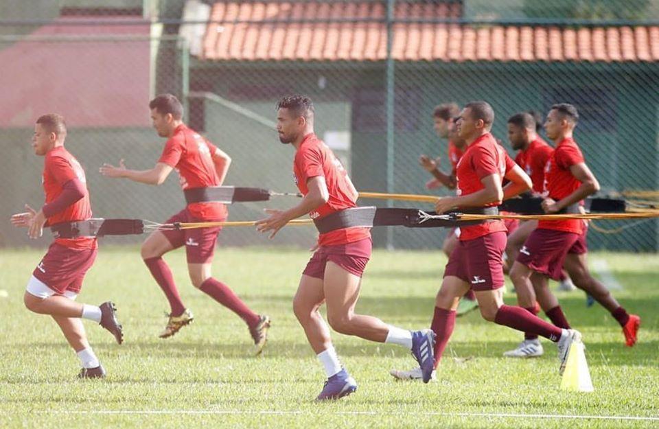 equipe treino
