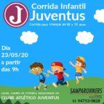 Juventus e  Samparunners promovem Corrida Infantil em Maio