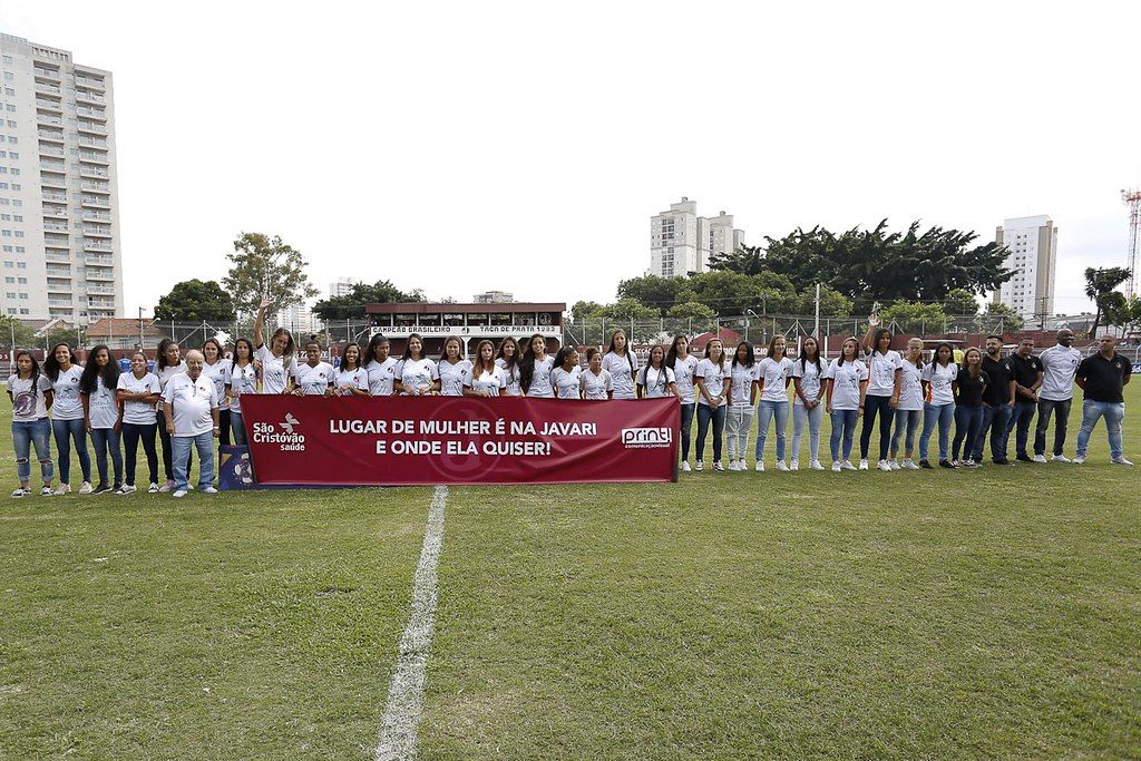 futebol feminino apresentação