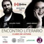 Encontro Literário Online com Julián Fuks e Jarid Arraes