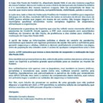Comunicado sobre a Copa São Paulo de Futebol Júnior 2021