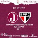 Juventus encara São Paulo no Paulista Sub 20