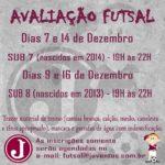 Avaliação de Futsal