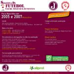 Seletiva de Futebol para Nascidos em 2005 e 2007 – Masculino/ Set 2021