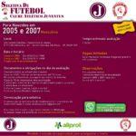 Seletiva de Futebol de Campo para 2005 e 2007 – Masculino
