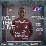 Juventus busca vitória contra o Taubaté em casa