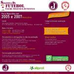 Seletiva de Futebol para Nascidos em 2005 e 2007 – Masculino/Set 2021