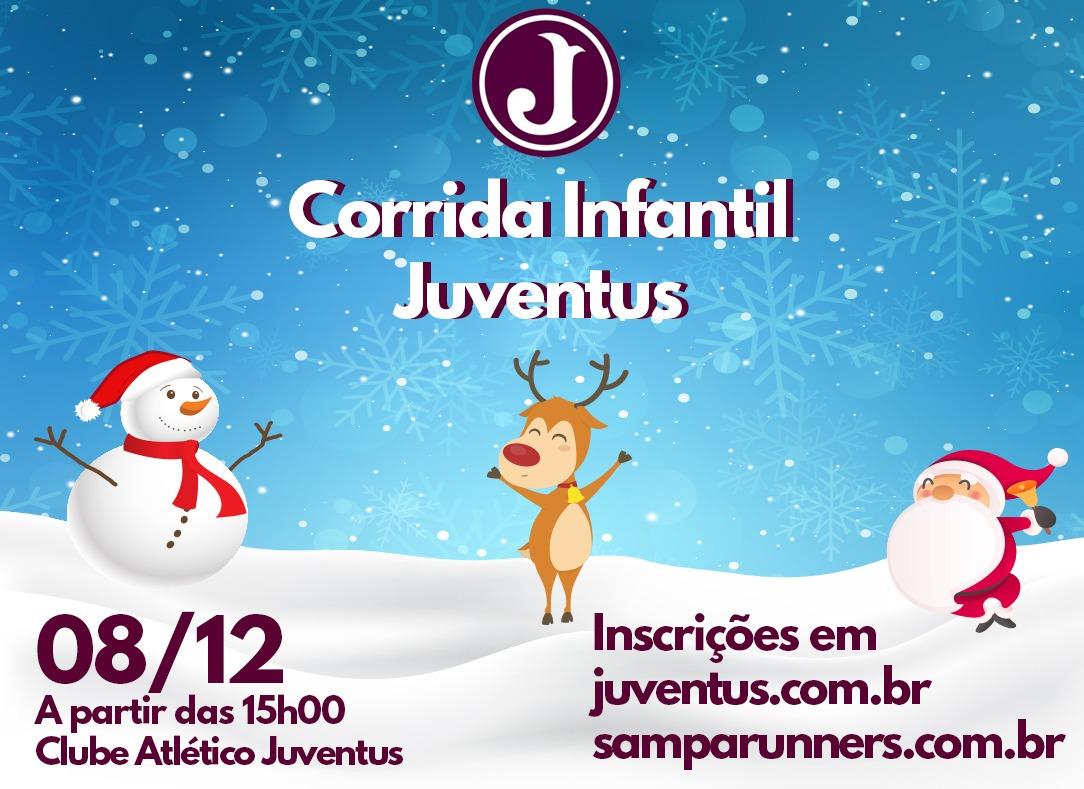 Juventus Promove Corrida Infantil De Natal Clube Atletico Juventus